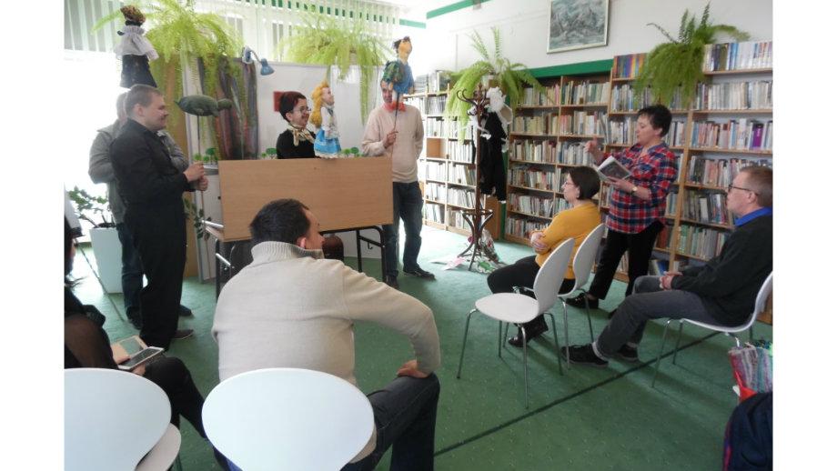 Teatr ma w sobie magię – spotkanie z podopiecznymi Środowiskowego Domu Samopomocy