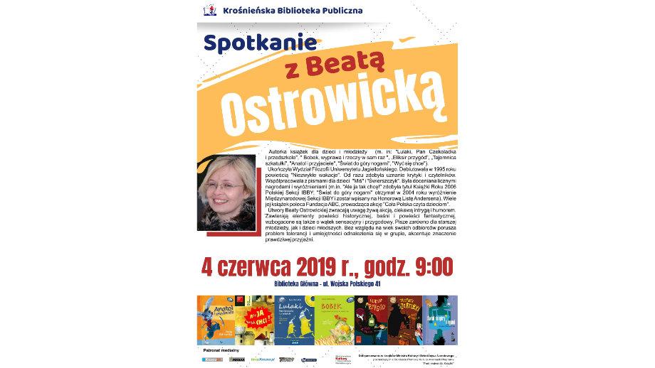 Beata Ostrowicka i sportowcy czytają dzieciom