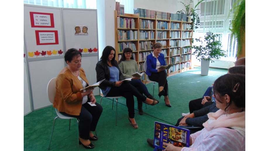 """""""Ja czytam, Ty czytasz, my czytamy"""" - konkurs głośnego czytania w Filii nr 4 KBP"""