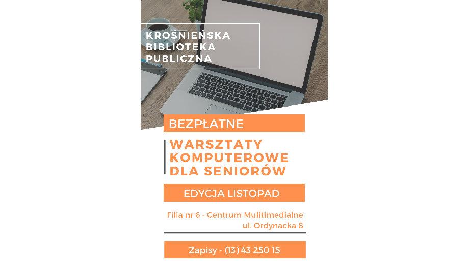 Bezpłatne warsztaty komputerowo-internetowe w Bibliotece – edycja listopadowa