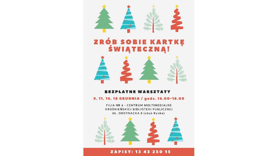 Zrób sobie kartkę świąteczną! Bezpłatne warsztaty tworzenia cyfrowych kartek