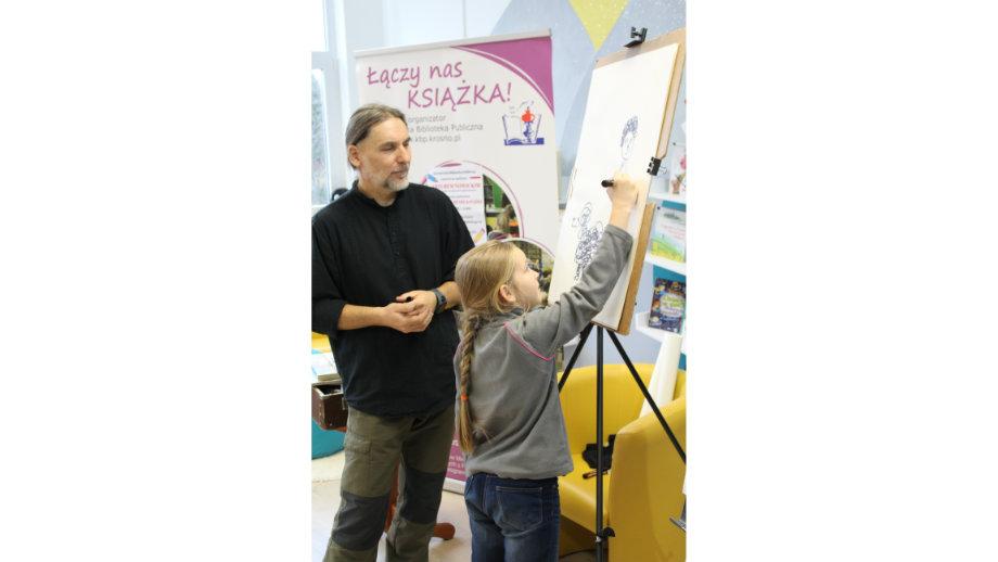 Jak zostać ilustratorem?  spotkania z Arturem Nowickim