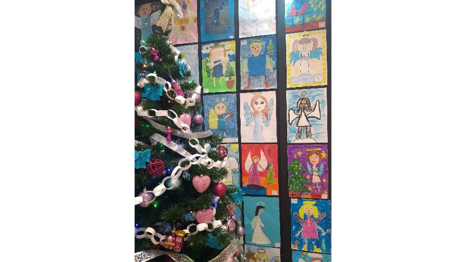 Anioły Bożonarodzeniowe