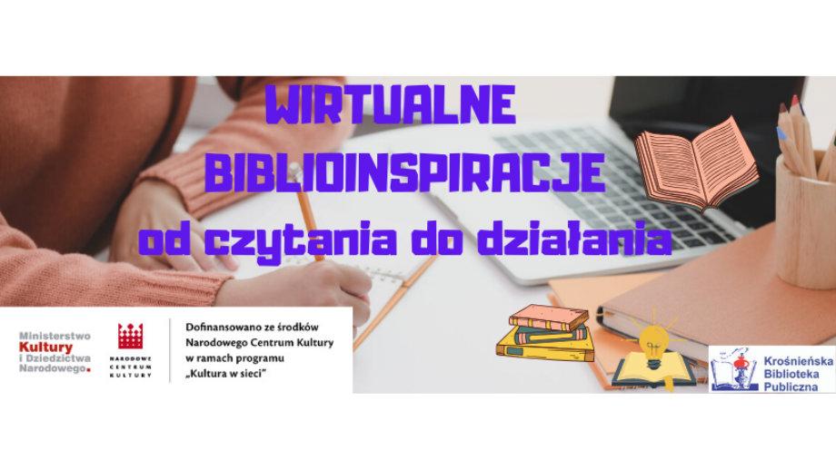 Wirtualne biblioinspiracje - od czytania do działania!
