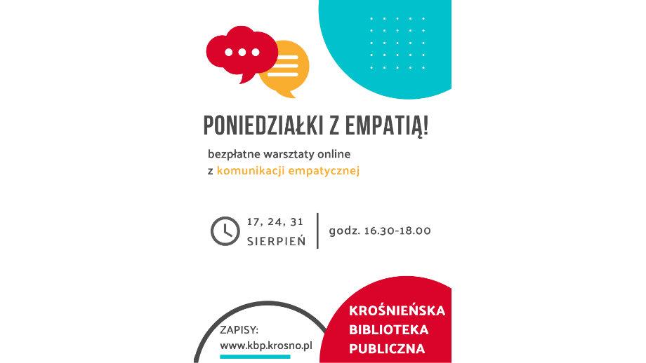 Poniedziałki z empatią! Warsztaty z podstaw komunikacji opartej na empatii