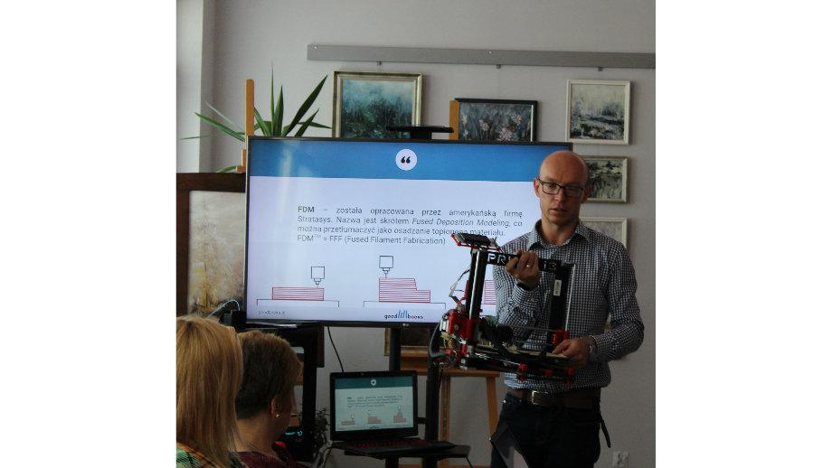 Tajniki druku 3D - szkolenie dla bibliotekarzy