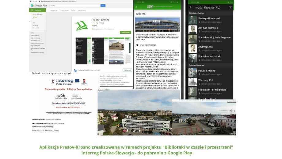 Krosno-Preszów wirtualnie… aplikacja-przewodnik śladami osób  z miastem związanych