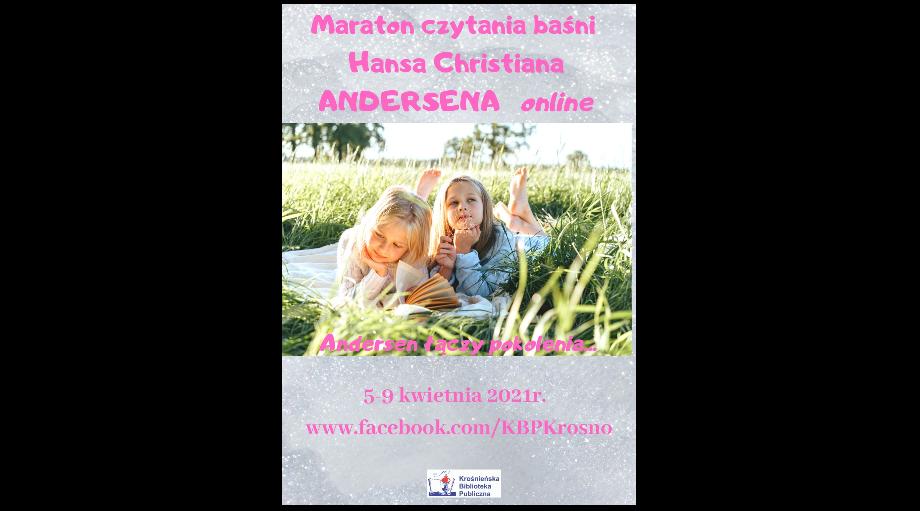 Maraton czytania baśni H. CH. Andersena online….