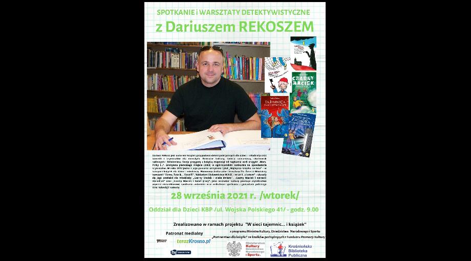 Spotkanie i warsztaty z Dariuszem Rekoszem